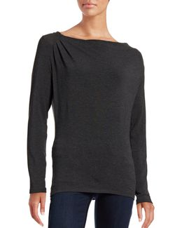 Iconic Fit Cowl Neck Top