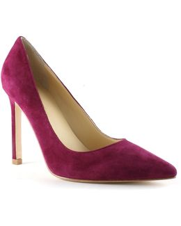 Carra Suede Point Toe Pumps