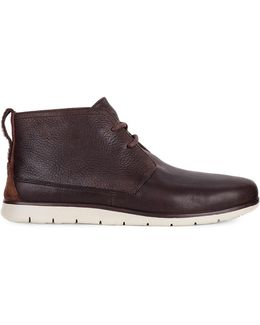 Freamon Treadlite Leather Chukka Boots
