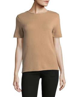Tolleree Cashmere Sweater Tee