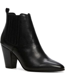 Khiara Block Heel Ankle Boots