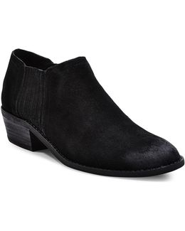 Courtst Suede Ankle Booties