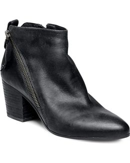 Jaydun Asymmetric Zip Booties