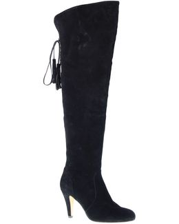 Cherline Suede Over-the-knee Boots