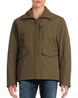 Insulated Soft Shell Rain Jacket
