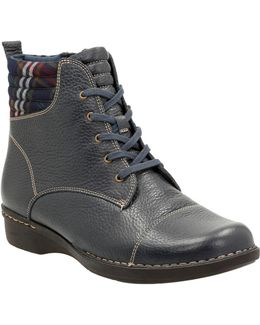 Whistle Bea Leather Booties