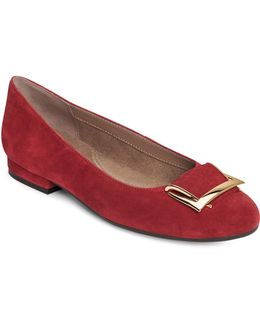 Goodtimes Suede Flats