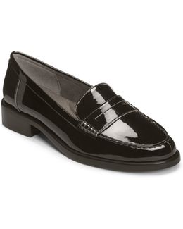 Main Dish Patent Leather Penny Loafers