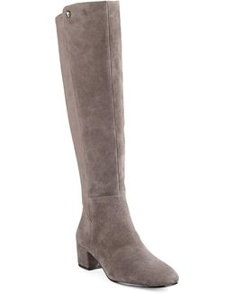 Lattey Tall Suede Combo Boots
