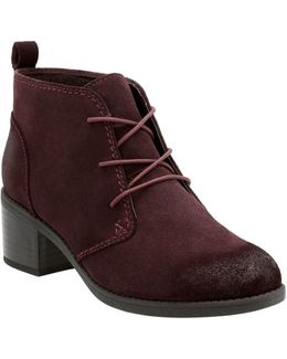 Cushionsoft Nevella Harper Collection Suede Booties