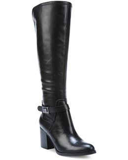 Arlette Leather Knee-high Boots