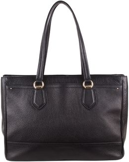 Tali Double Zip Work Tote Bag