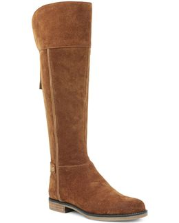 Christine Leather Riding Boots