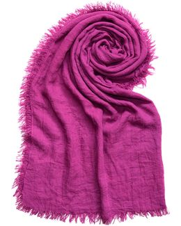 Distressed Solid Scarf