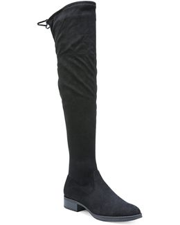 Peyton Microsuede Knee-high Boots