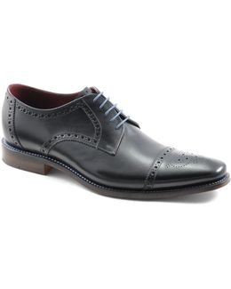 Foley Cap Toe Brogue Oxfords