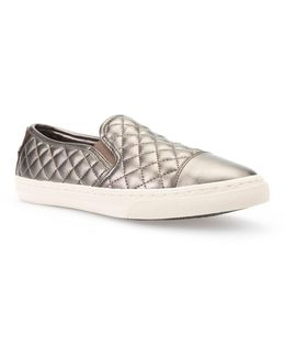 Club Quilted Slip-on Shoes