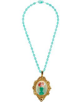 Princess Ariel Snow Globe Necklace