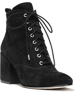 Tate Suede Lace-up Boots