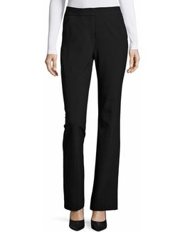 Tailored Flare Dress Pants