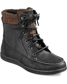 Bayfish Leather Casual Boots