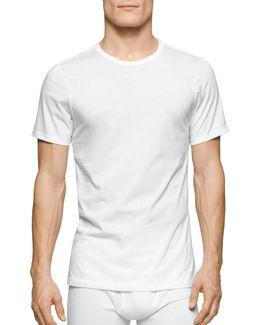 Three-pack Slim-fit Crew Neck T-shirts