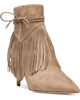 Marion Fringed Suede Boots