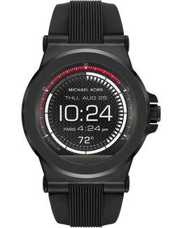 Dylan Silicone Black-tone Smartwatch