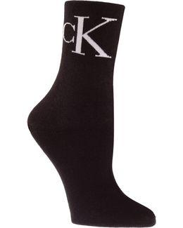 Two-pair Iconic Vintage Logo Crew Socks