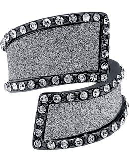 Hematite-tone Bypass Ring