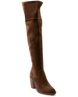 Orlando Suede Over-the-knee Boots