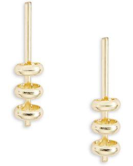 Bar And Loop Earrings