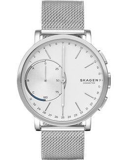 Hagen Connected Stainless Steel Hybrid Smart Watch
