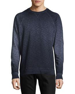 Dip-dye Raglan Sweatshirt