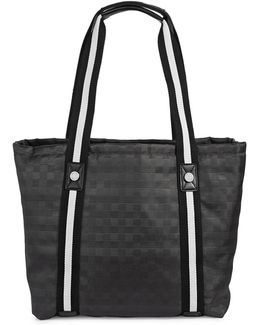 Athleisure Woven Tote Bag