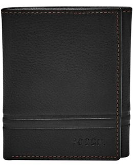 Watts Leather Trifold Wallet