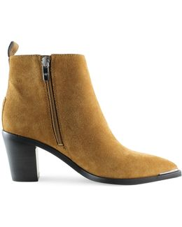 Nellien Leather Booties