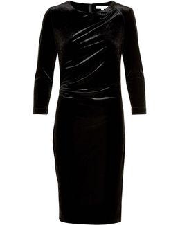 Nisas Long Sleeve Sheath Dress