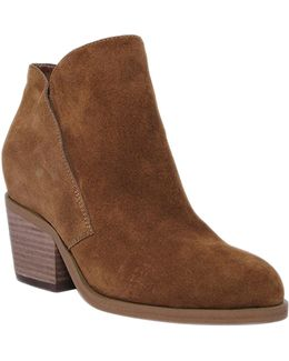 Tandra Panelled Suede Ankle Boots