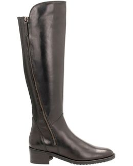 Valana Melrose Leather Tall Boots