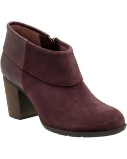 Enfield Canal Suede Booties