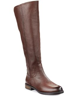 Chandra Leather Tall Riding Boots