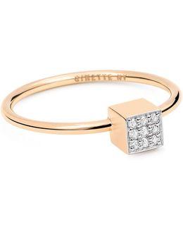 Ever Diamond 18k Rose Gold Ring With 0.05 Tcw Diamonds