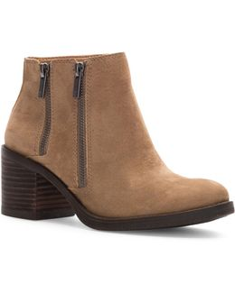 Roquee Leather Booties