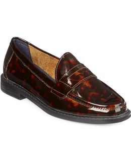 Pinch Campus Patent Leather Penny Loafers