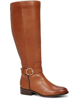 Catriona Leather Knee-high Riding Boots