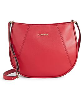 Key Item Leather Crossbody Bag