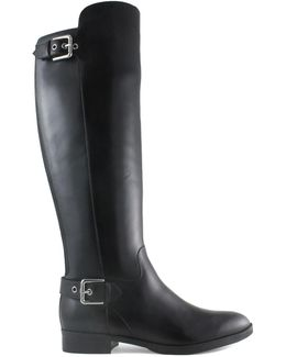 Damsel Leather Over-the-knee Boots