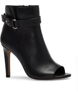Cassia Leather Booties