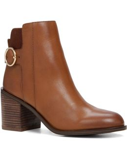Rosaldee Leather Ankle Boots